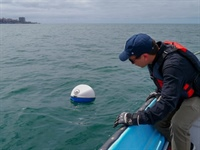 Drifting Buoys Help Scientists Study Waves in the Gulf Stream